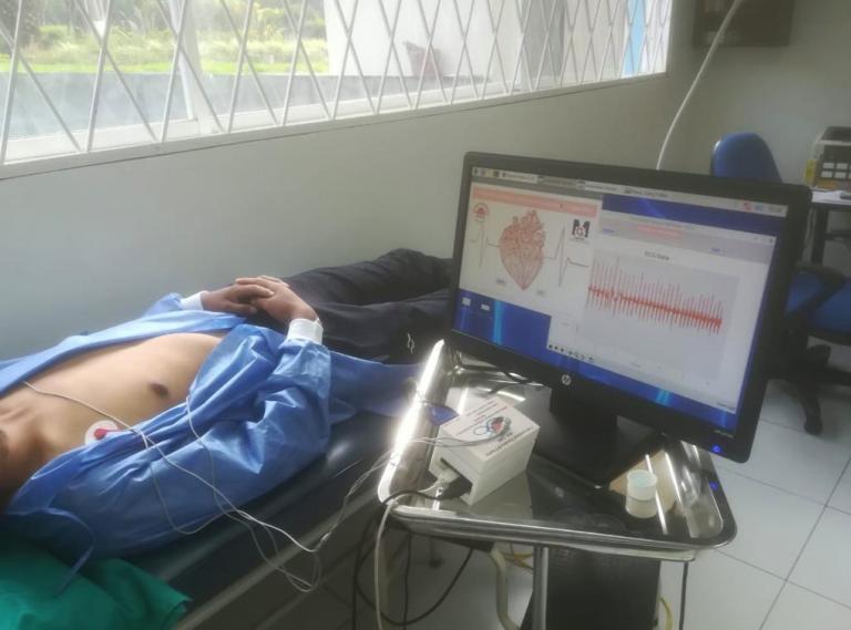 Se desarrolla un sistema de monitoreo y detección de bradicardia y taticardia